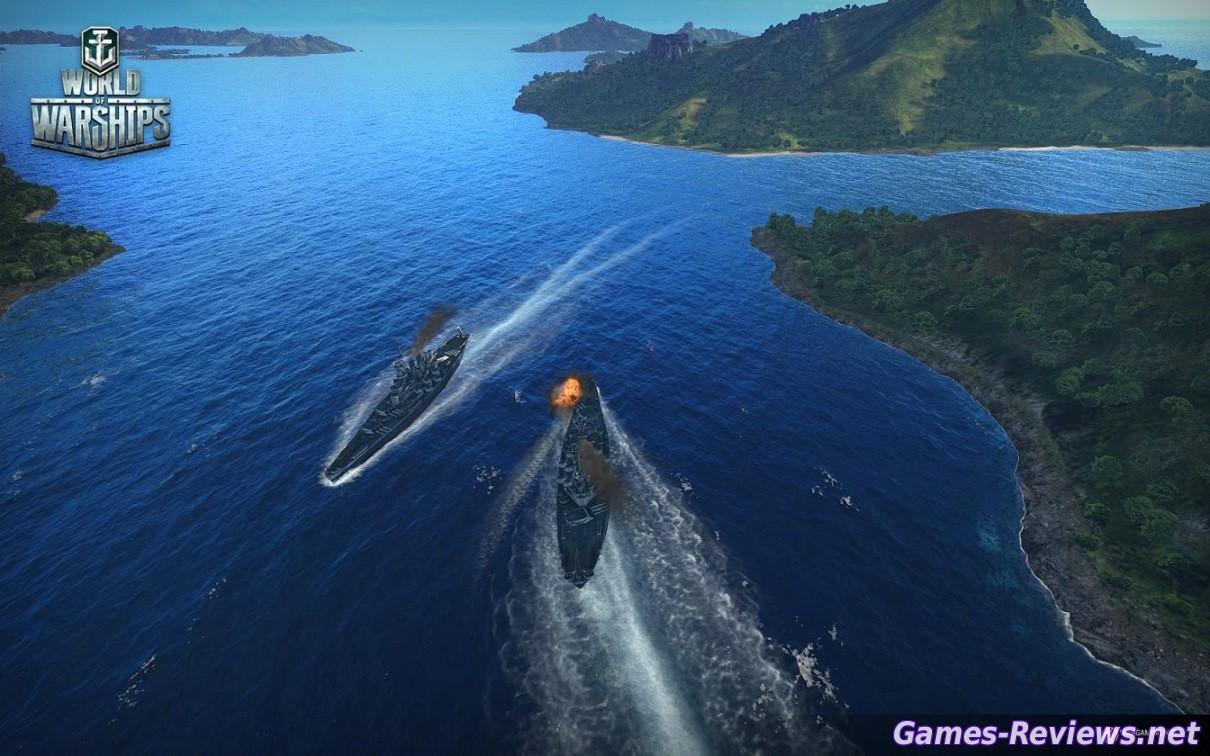 Зоны пробития для World of Warships. Мир кораблей