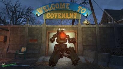 "Fallout 4: мод ""роботы для поселений"""