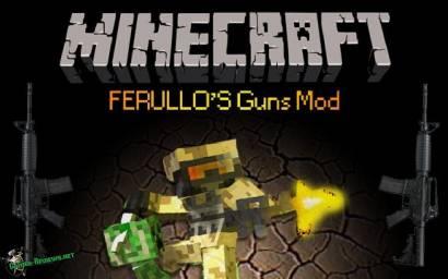 Мод на оружие для Minecraft