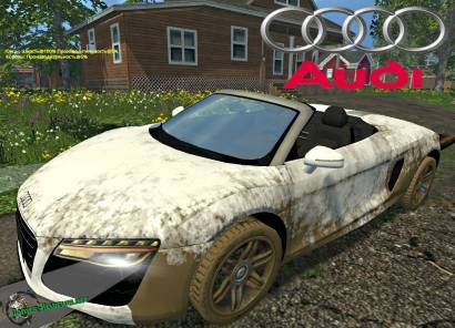 Audi R8 V10 Spyder для Farming Simulator 2015