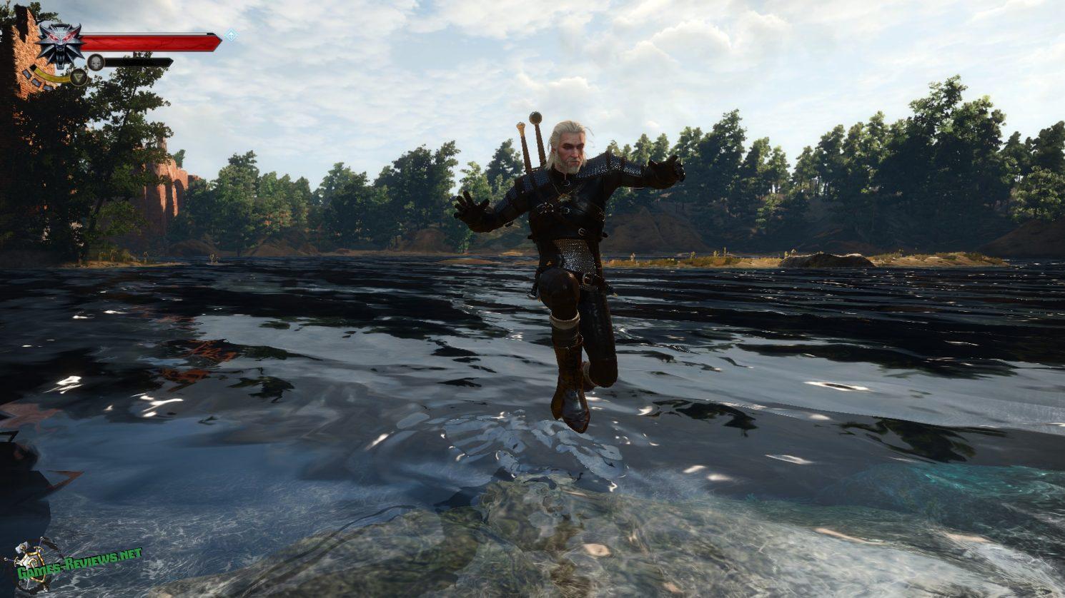 Прыжки в воде