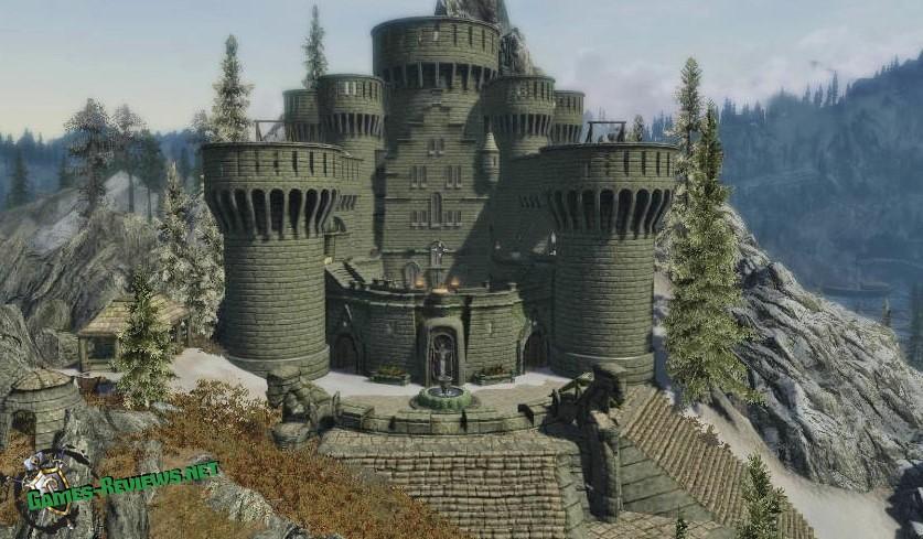 СКАЙРИМ: мод на замок Тень Звезды