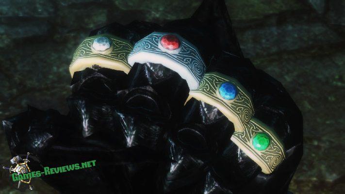 Мод на бесконечные кольца для Скайрима