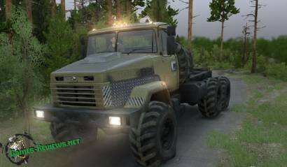 SpinTires: мод на КрАЗ 6322 v2.0
