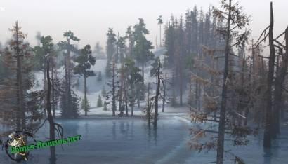 "Карта ""Зима"" для SpinTires"