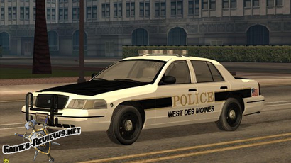 2007 Ford Crown Victoria для GTA: SA