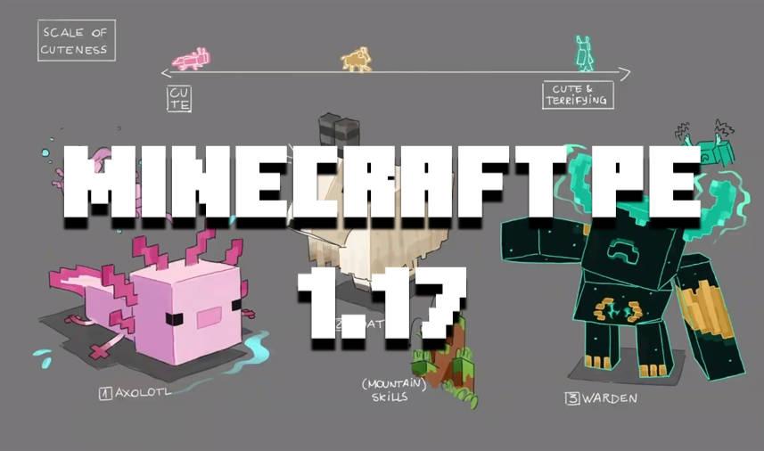 Скачать Minecraft PE 1.17.90, 1.17.20 и 1.17.0.0: Горы и Пещеры