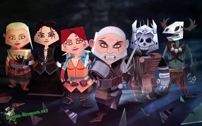 """Фигурки героев """"Ведьмак 3: Дикая Охота"""" в коллекцию"""