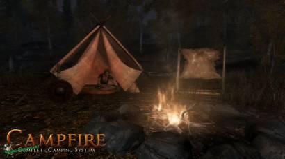 Свой небольшой лагерь