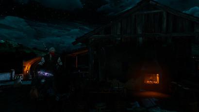 Сет Шани в Ведьмак 3 (светящиеся мечи + снаряжение)
