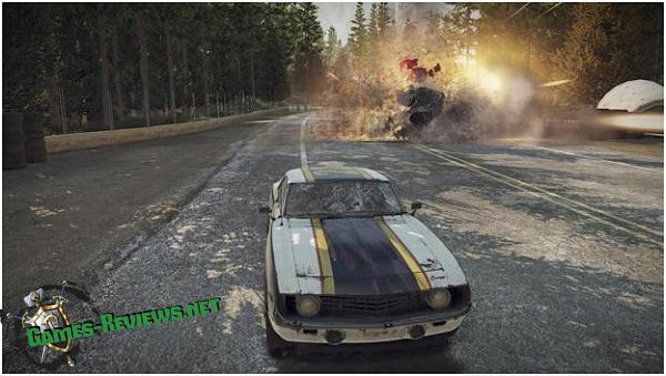 Анонс новой игры про «безумные гонки» - FlatOut 4