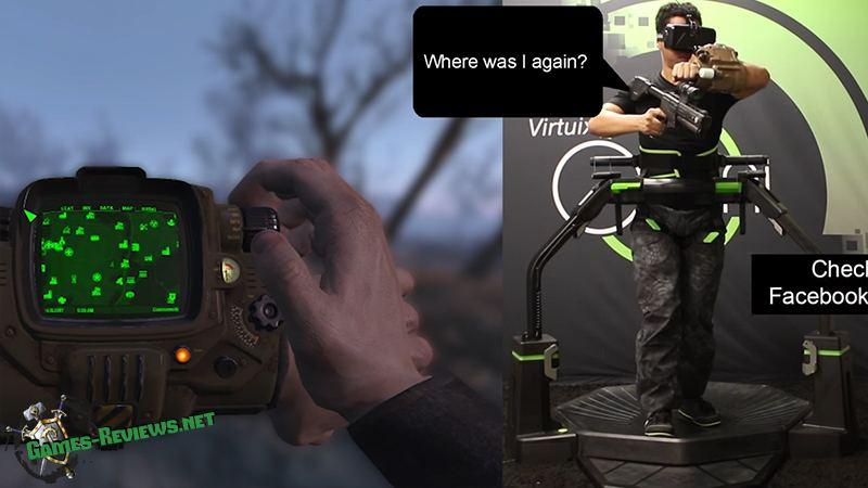 Игру Fallout 4 запустили на платформе Virtuix Omni