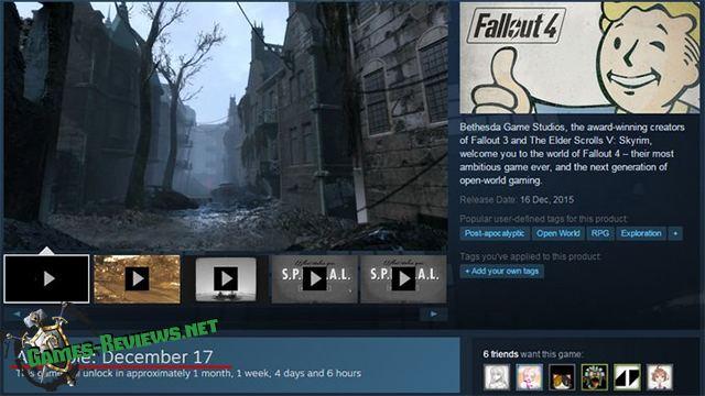 Японцы получат Fallout 4 лишь в декабре