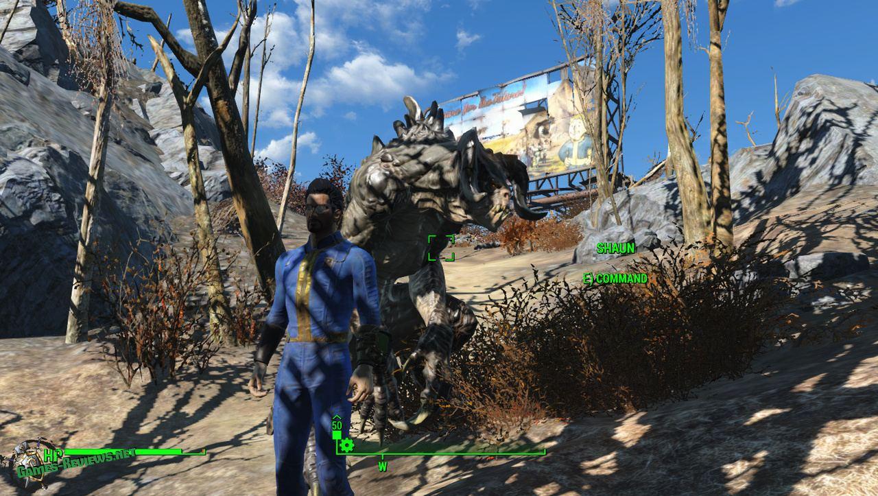 В Fallout 4 можно заполучить в компаньоны Когтя Смерти