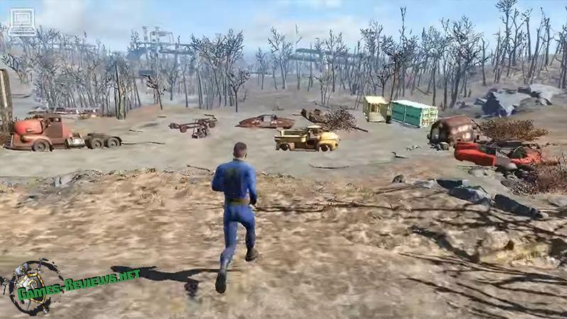 Fallout 4 запущена на «ультра-низких» настройках