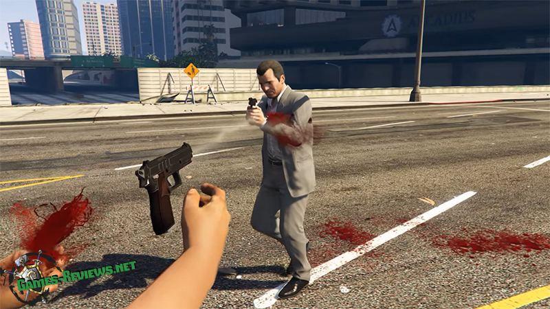 В GTA V теперь можно разоружить противника выстрелом в руку