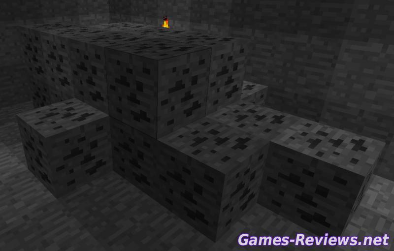 Как сделать уголь в Minecraft?