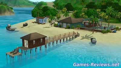 Как создать курорт в Симс 3