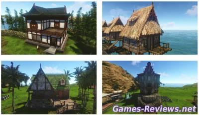 Как построить дом в ArcheАge?