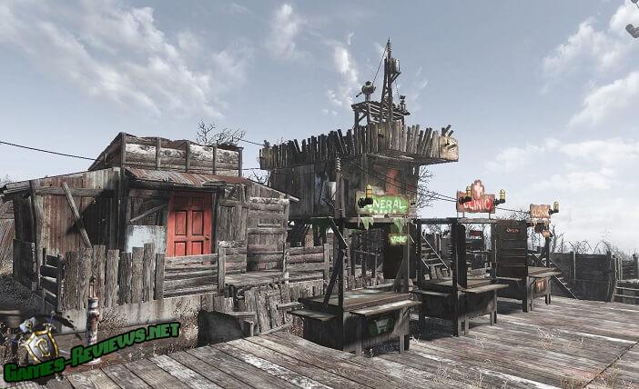 Fallout 4: убираем лимит построек