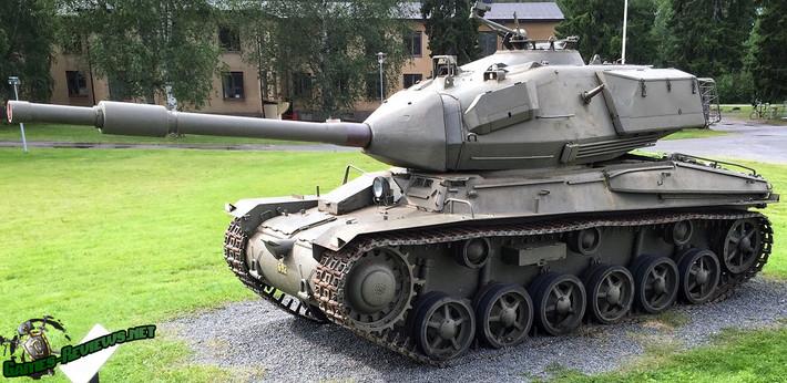 Обзор Strv 74