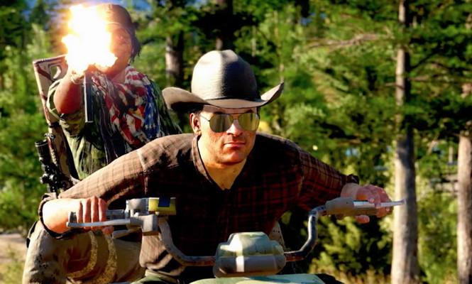 Секреты Far Cry 5, регион Веры Сид. Тайники реки Хенбейн