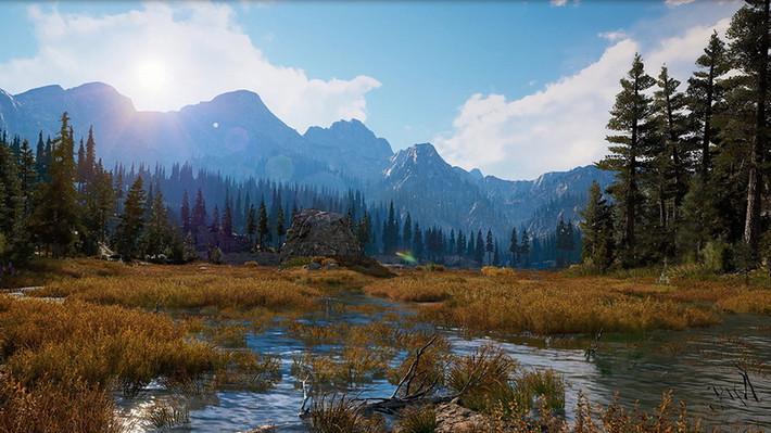 Far Cry 5, Река Хенбейн. Сюжетное задание «Блажь» (благословения Веры)