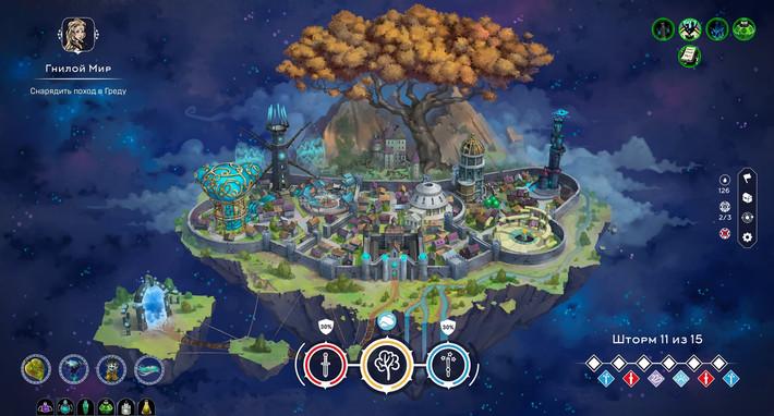 Миттельборг: Город Магов — приключенческая стратегия в сочетании с элементами рогалика и управления ресурсами