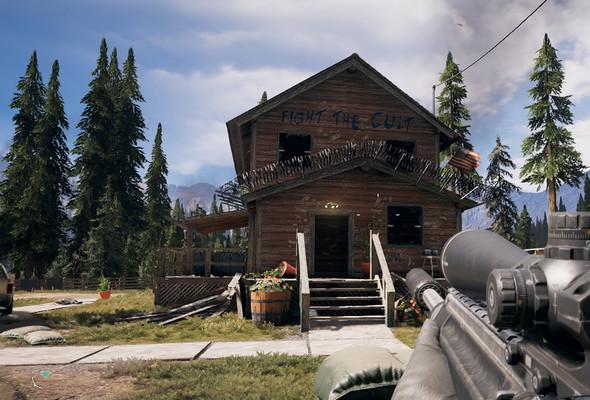 Far Cry 5. Горы Уайттейл, сюжетное задание «Радиомолчание»