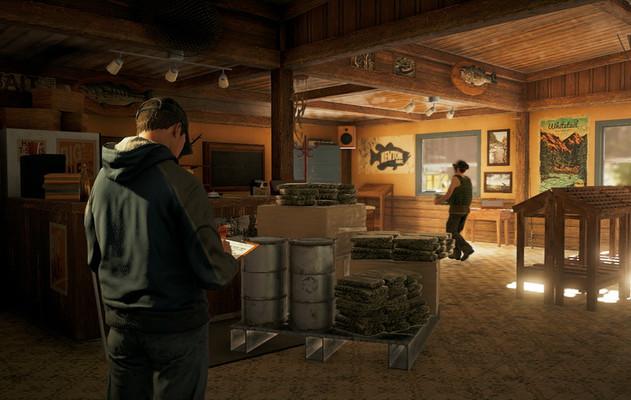 Far Cry 5, Река Хенбейн. Сюжетное задание «Грехи отца»