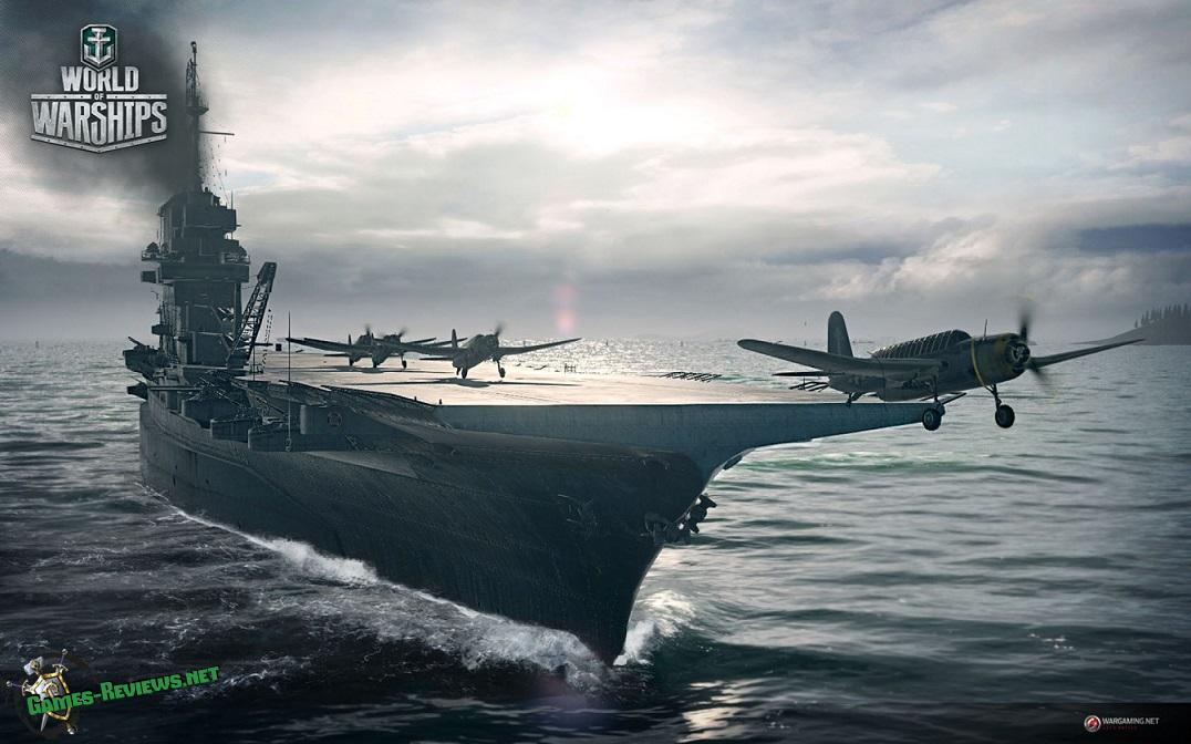 Как играть на авианосце в World of Warships?