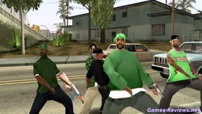 Как в ГТА Сан Андреас нанять банду?