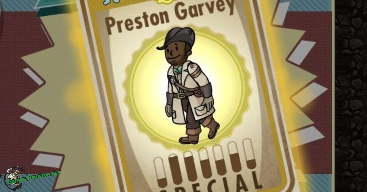 Что делать если в Fallout 4 Престон Гарви не разговаривает?