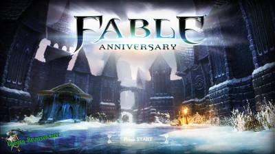 Прохождение Fable Anniversary