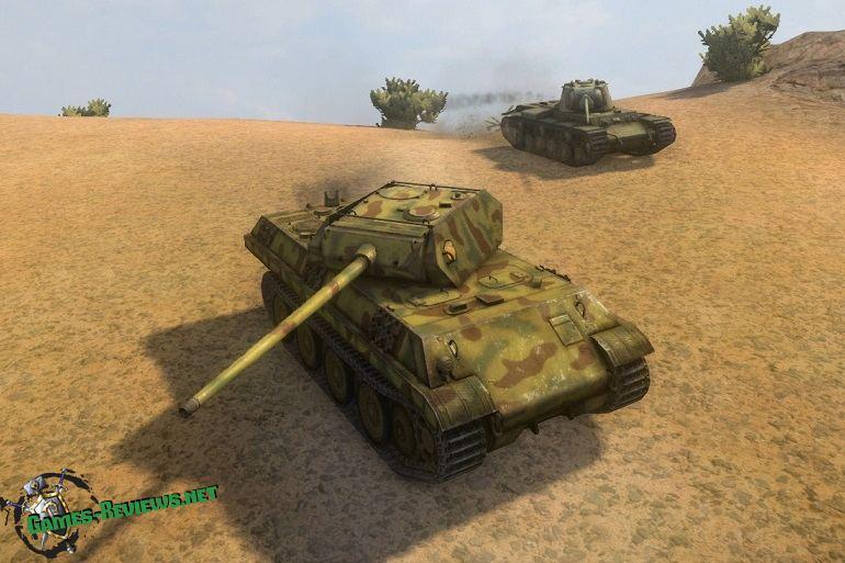 Обзор Пантеры М10 в WoT