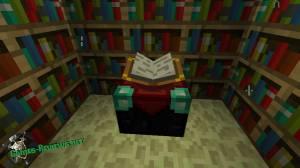Как в Майнкрафте использовать зачарованные книги?