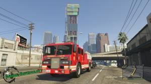 Где в ГТА 5 найти пожарную машину?