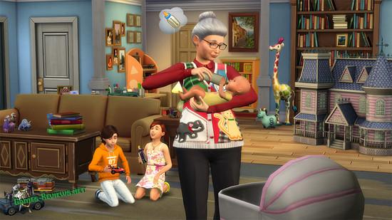 Как вызвать няню в Sims 4?